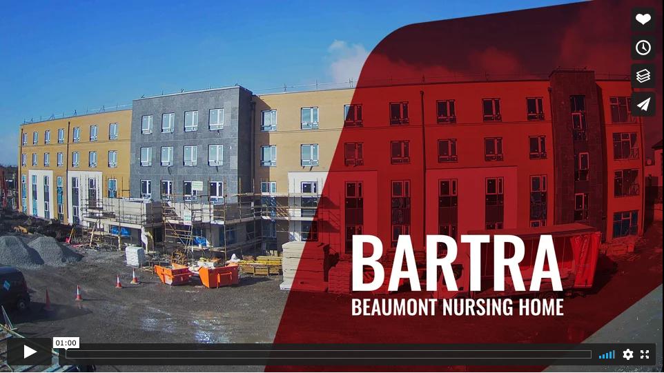 Beaumont Nursing Home construction timelapse